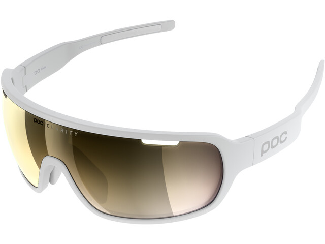 POC DO Blade Lunettes, hydrogen white/gold